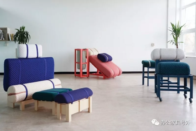 以木架床為主要框架的三件家具