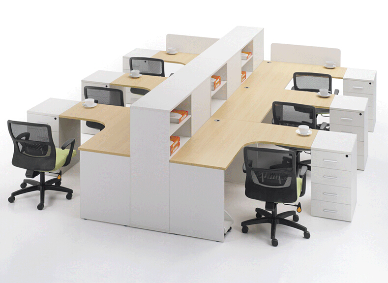 职员办公桌椅组合