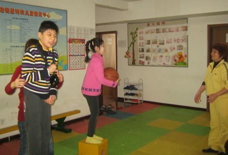 西安脑瘫儿童培训学校