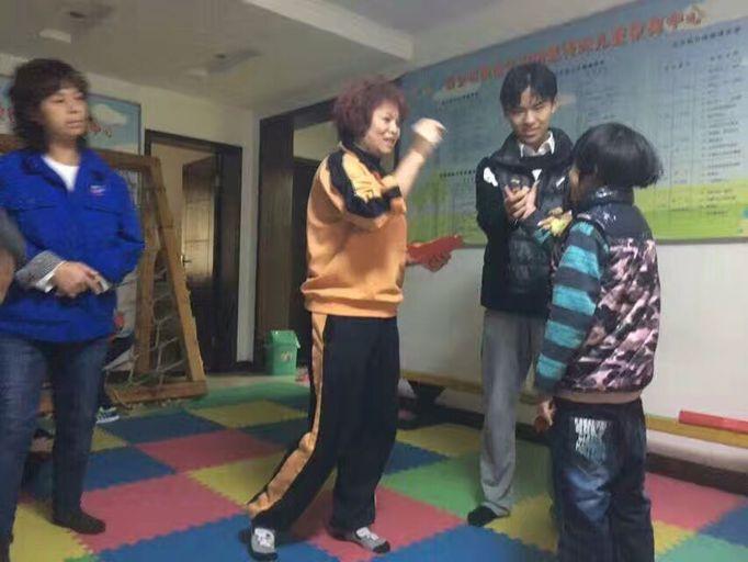 智障儿童康复训练活动