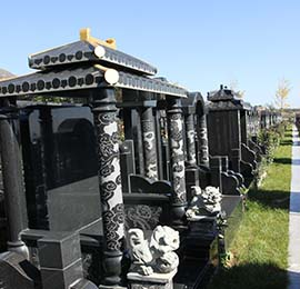 西安墓地的重要性