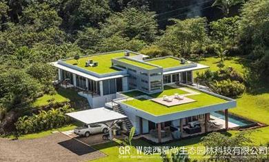 別墅屋頂綠化
