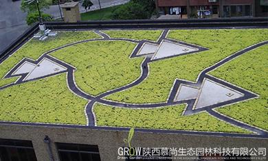 草坪式屋顶绿化公司