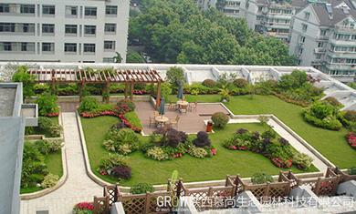 花園式屋頂綠化設計