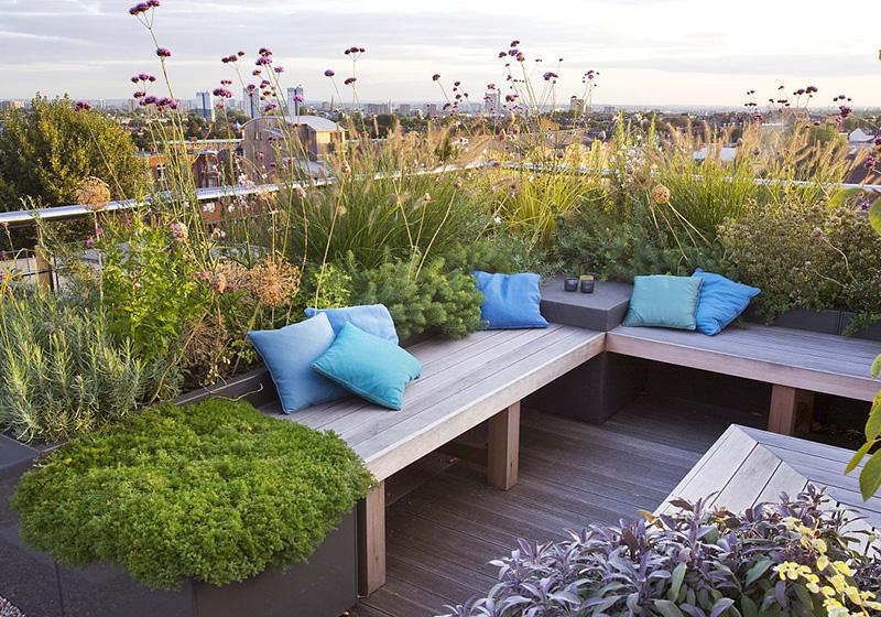 屋顶花园设计公司