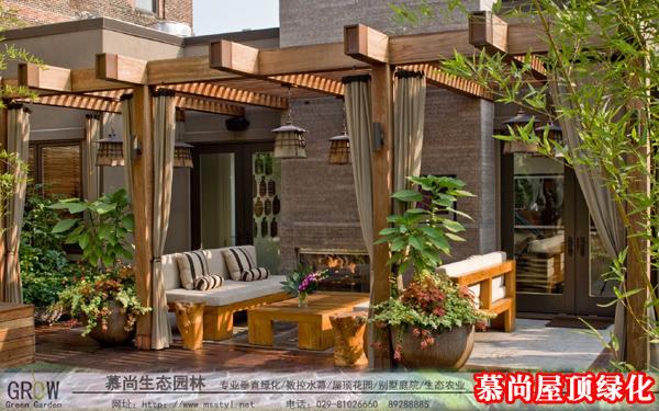 密集型屋頂綠化