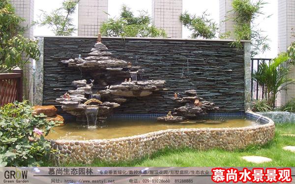 装饰水景景观