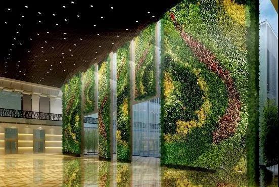西安墙体植物墙设计