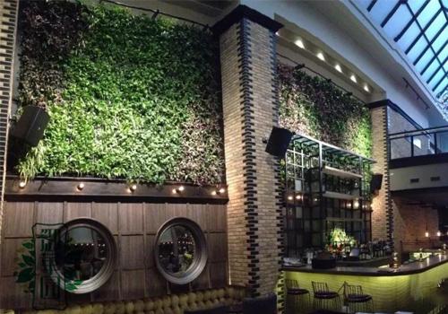 酒店室内仿真植物墙