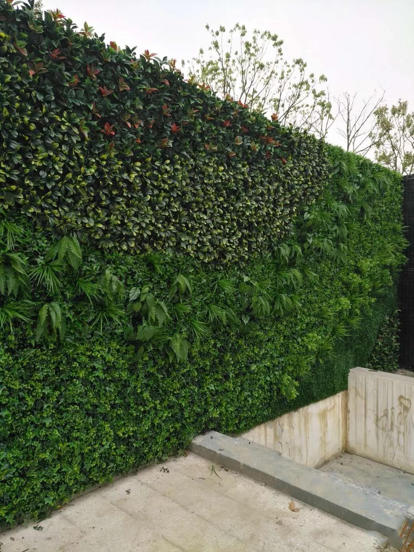 仿真植物墙安装