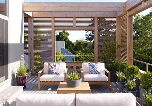 大露天阳台花园