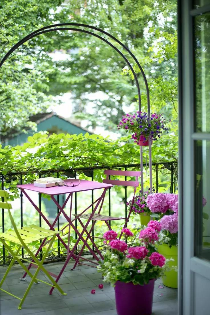 西安阳台露天花园设计