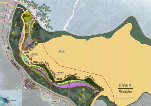 仙女湖湿地公园景观