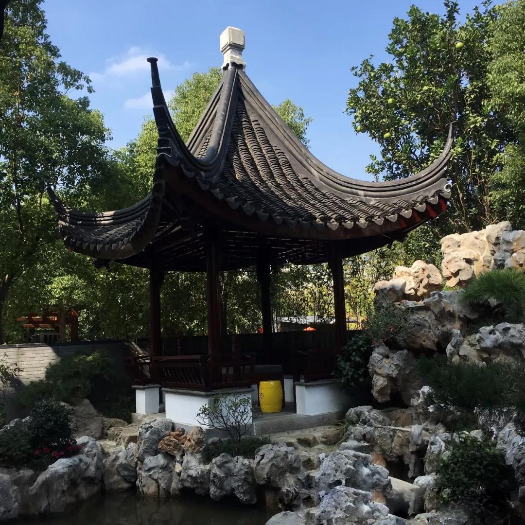 西安庭院假山设计