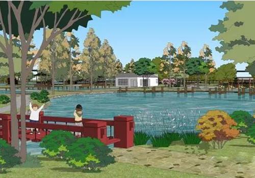 滁河湿地公园景观设计