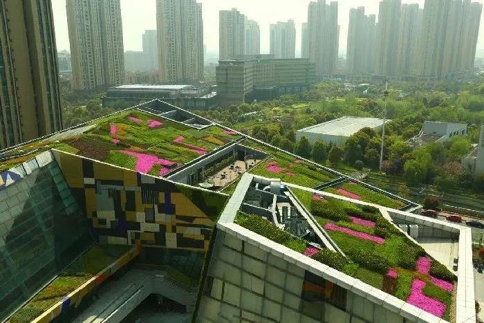 西安景观设计:屋顶绿化现实意义