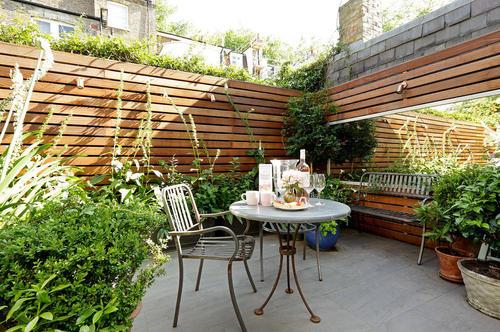 庭院景观设计石与草的关系