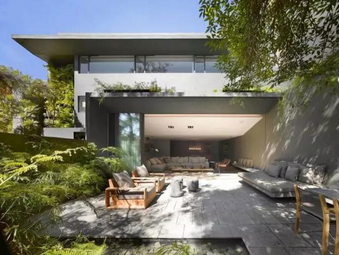 曲江庭院景观设计