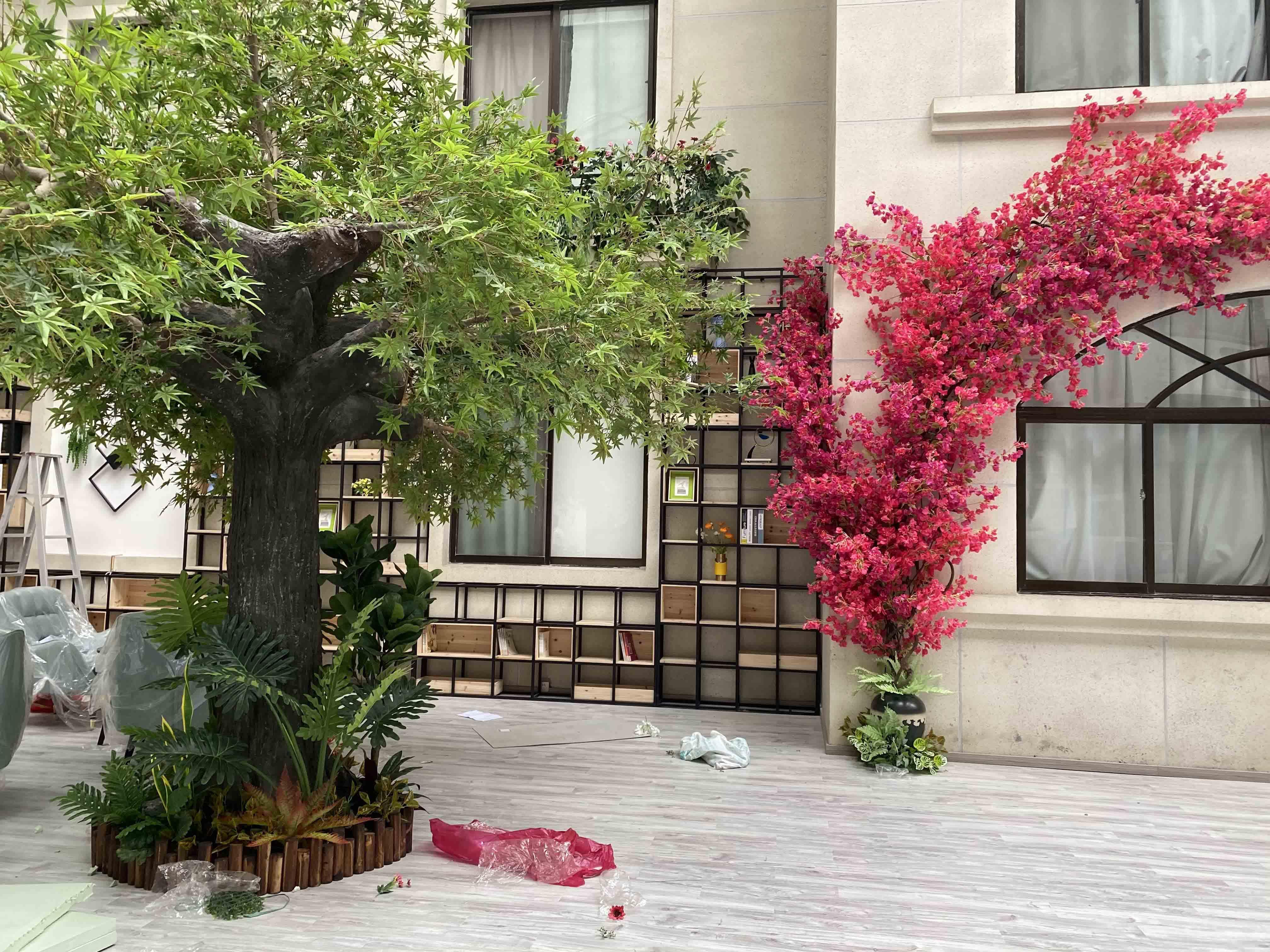 室内仿真植物造景