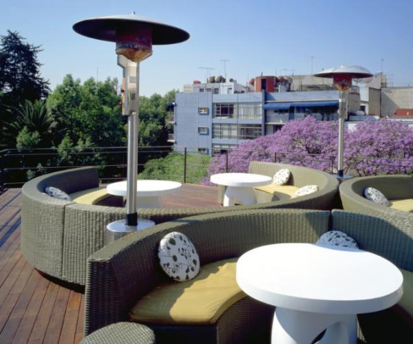西安酒店屋顶花园
