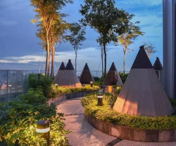 酒店屋顶花园