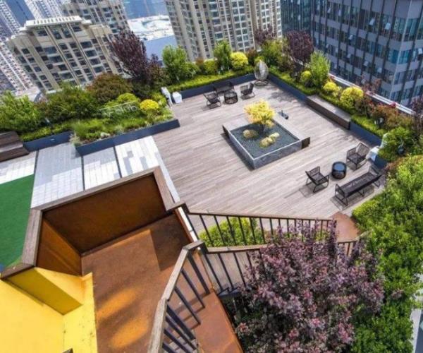 酒店屋顶花园设计