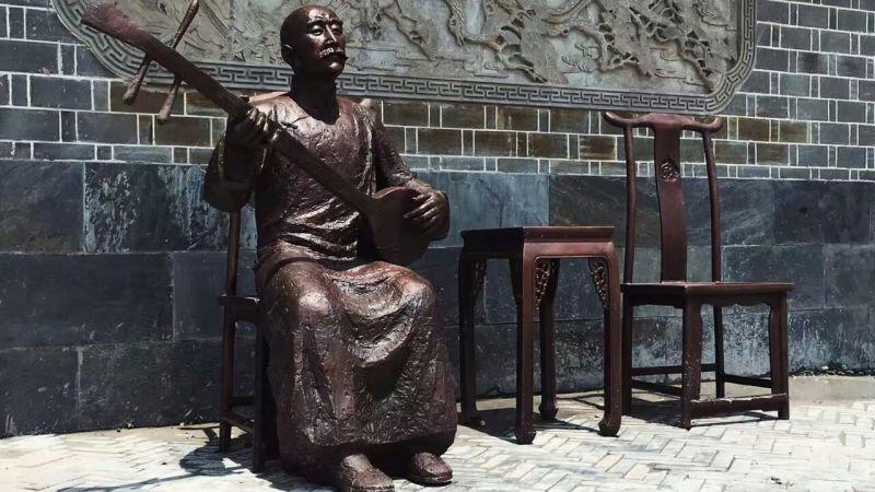 铜铸雕塑—文化