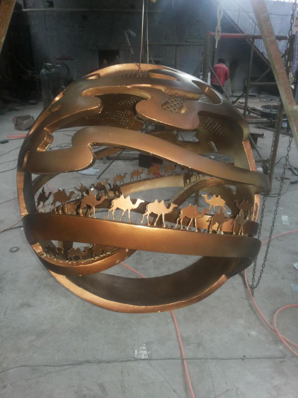 铜铸雕塑—文化02