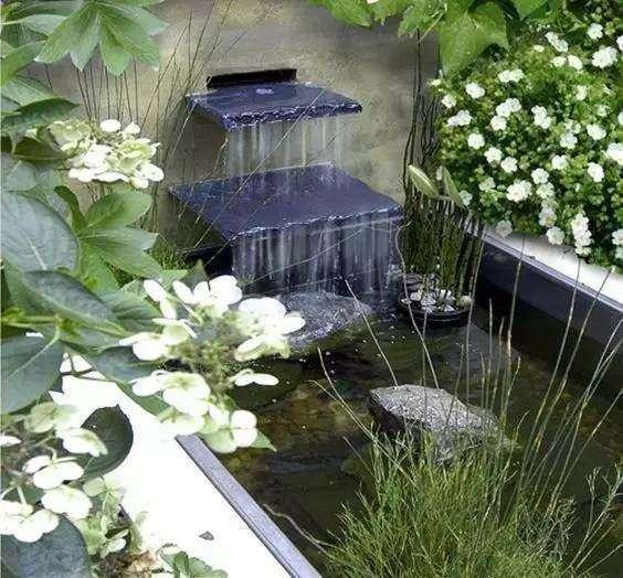 庭院水景怎么做防水?