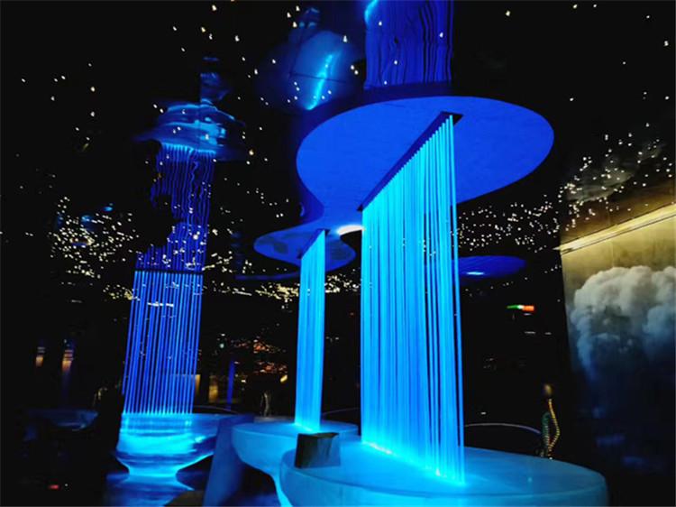 水幕电影喷泉的设计要点