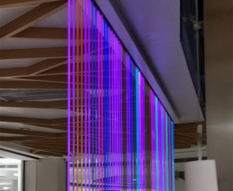 室内光纤水幕