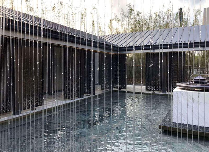 西安拉线水幕设计