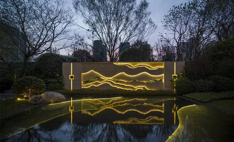 西安地产水景打造