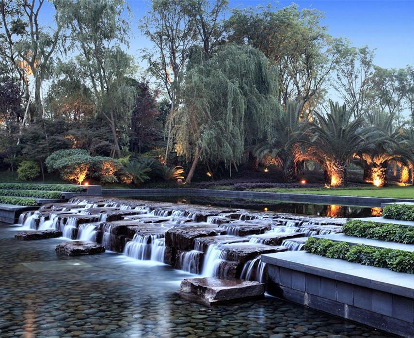 西安水景设计公司为你讲解跌水景观