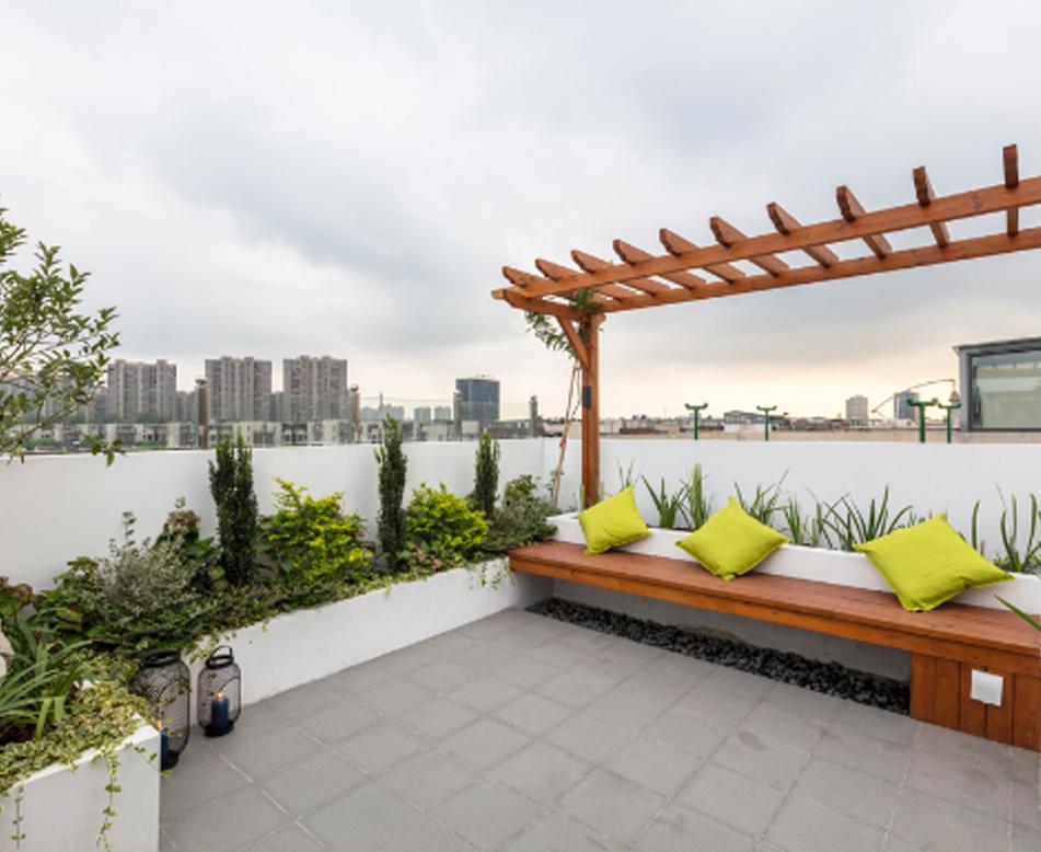 屋顶花园设计