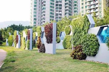 立体植物墙的使用材质和植物墙朝向有什么差异?