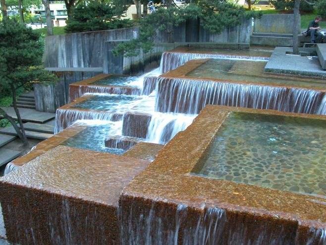 水景景观设计之跌水