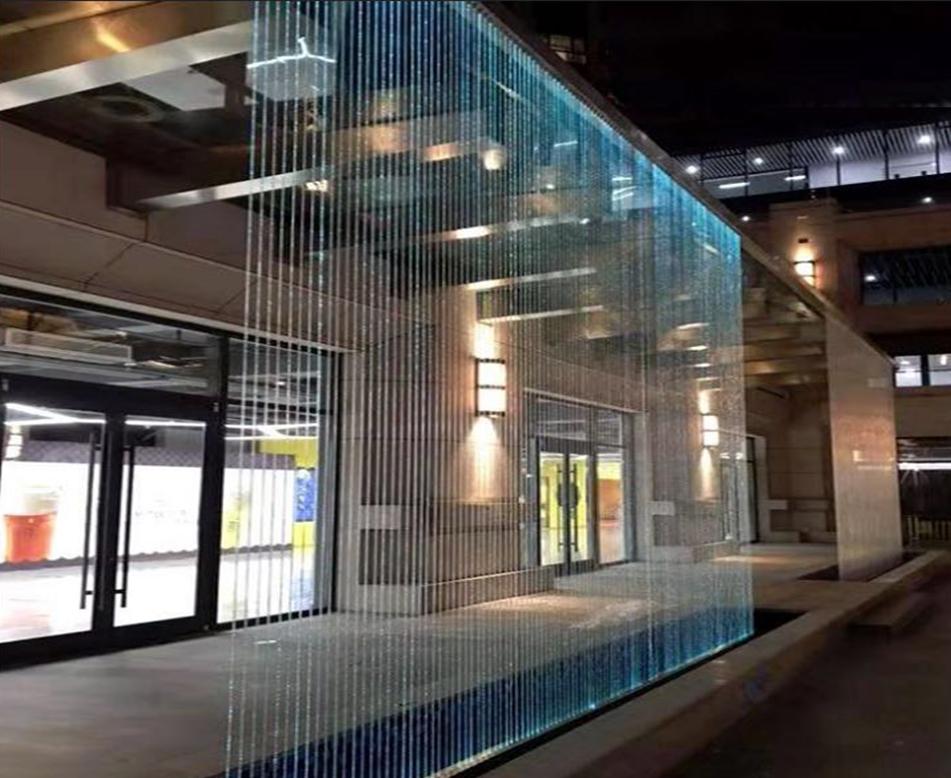 商场光纤水幕