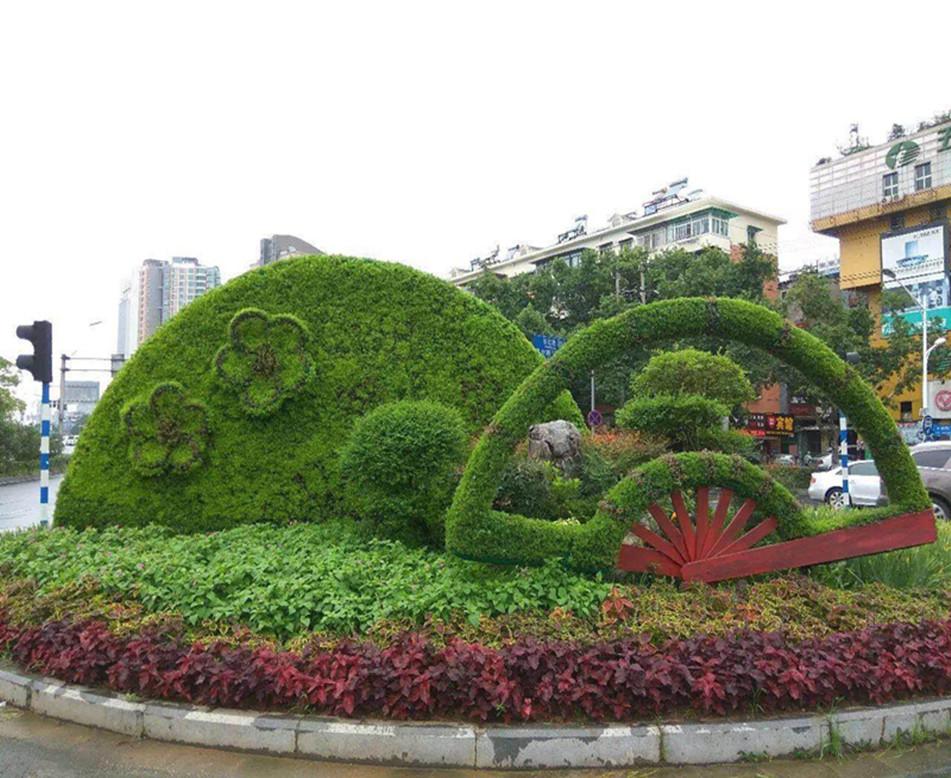 西安绿雕设计文源景观