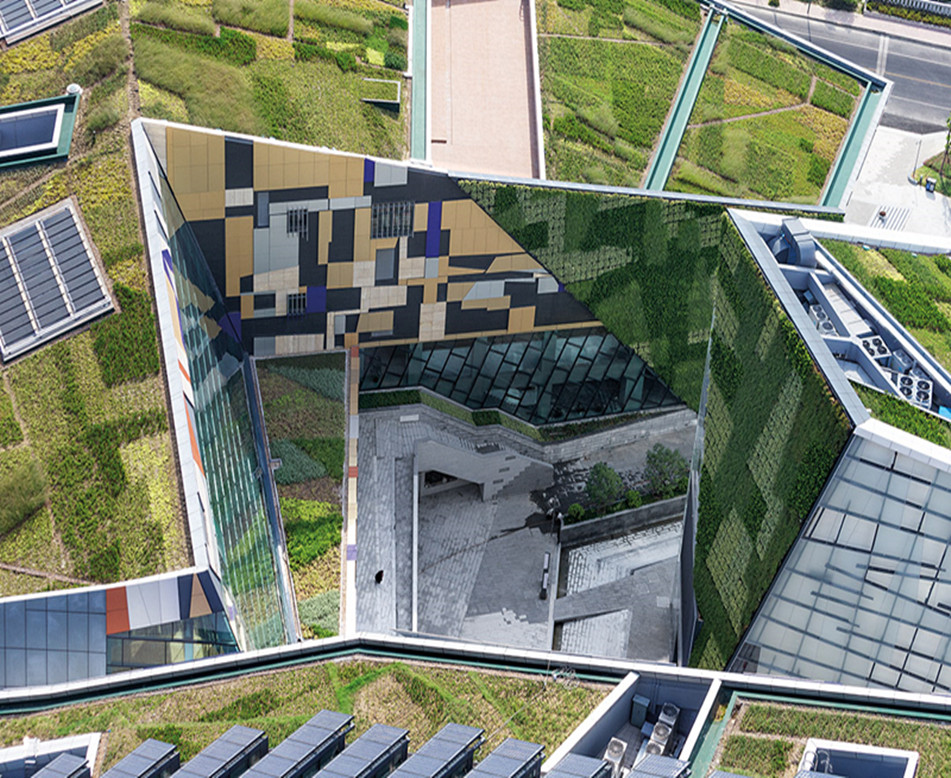 城市植被屋顶打造
