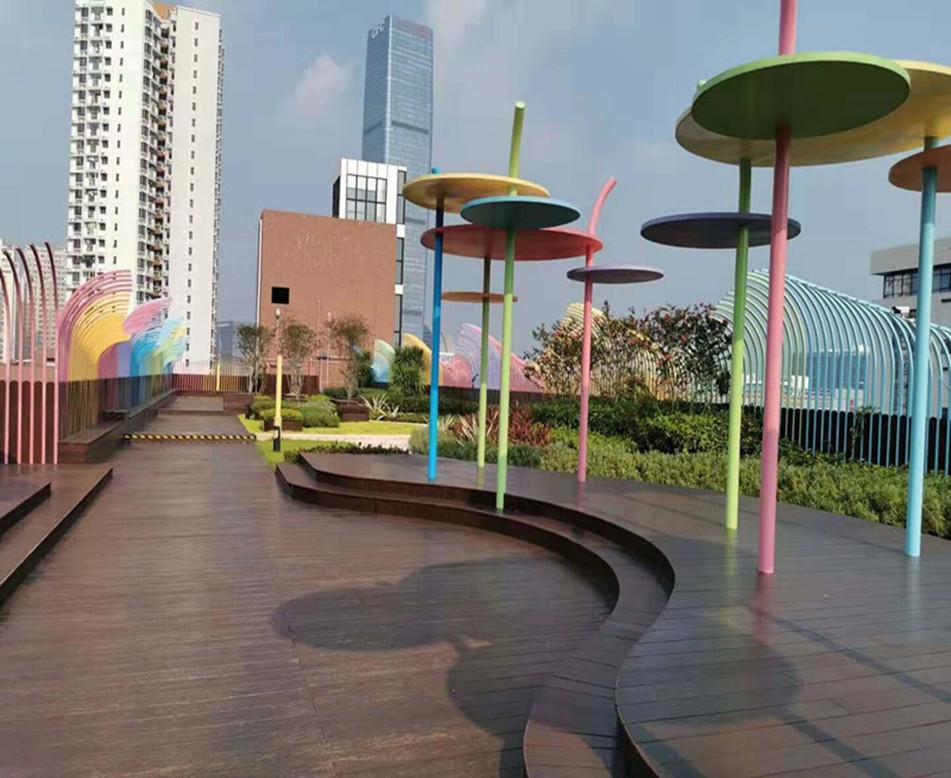 城市商业区屋顶花园设计