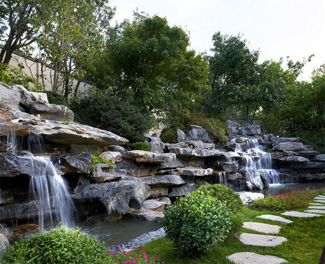 西安水景公司告诉你如何设计跌水景观?