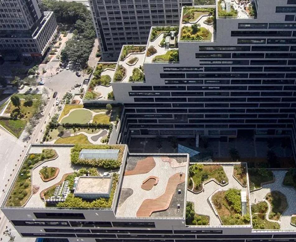 办公楼屋顶花园