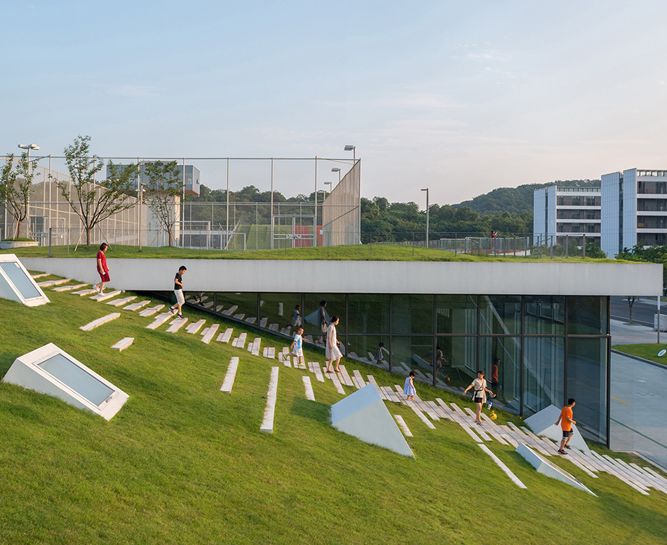 室外屋顶景观绿化