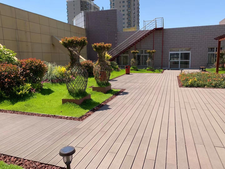居民区组合式屋顶绿化