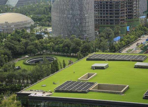 西安屋頂綠化設計