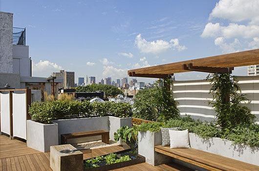 西安屋顶花园打造