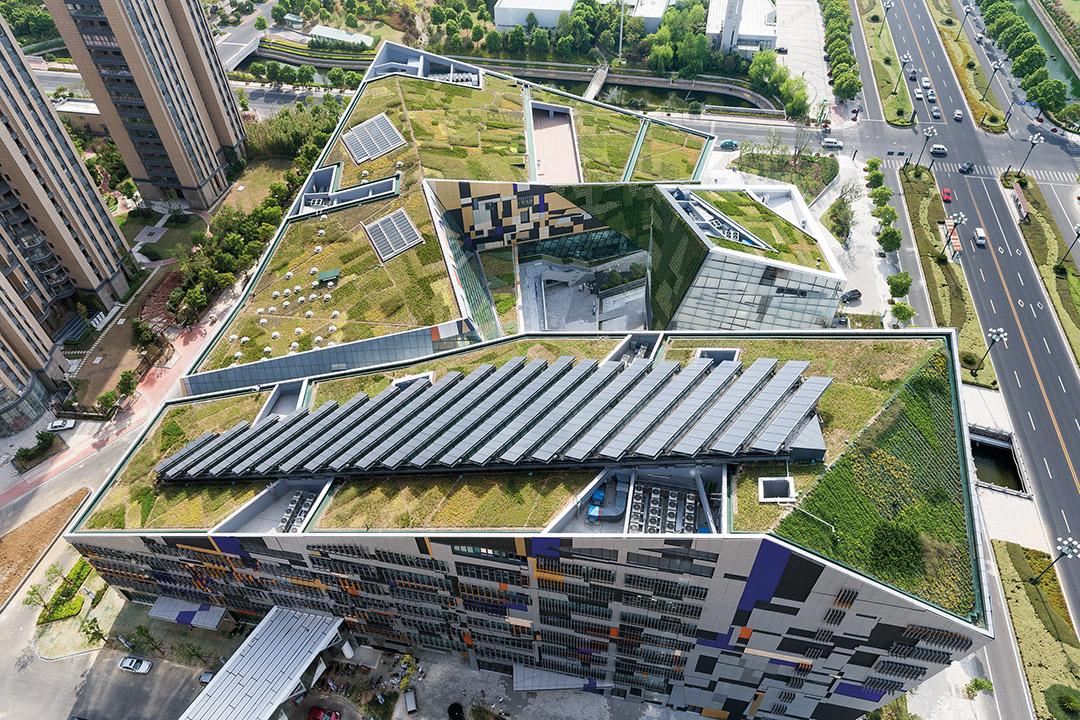 屋顶绿化对于打造海绵城市的作用