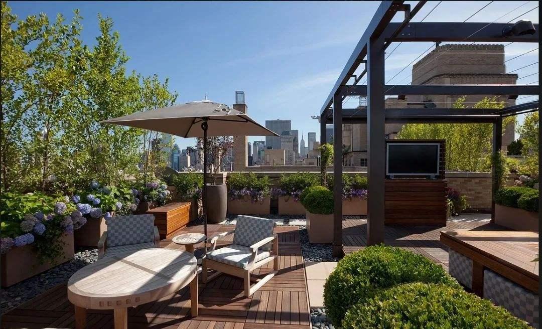 私人庭院屋顶花园打造