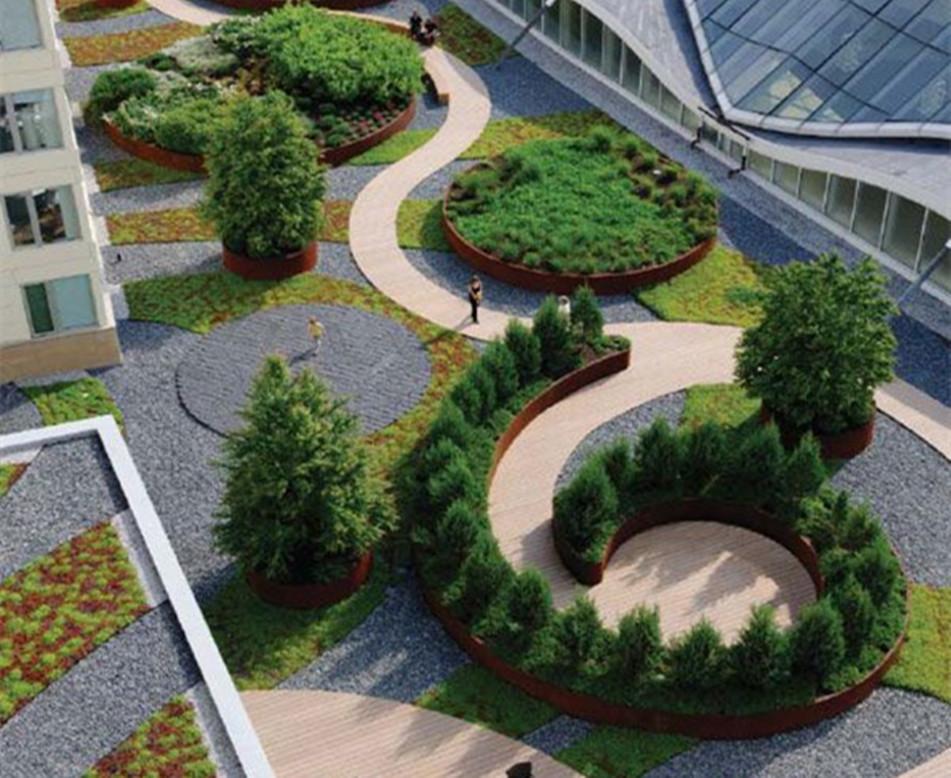 城市屋顶花园建造